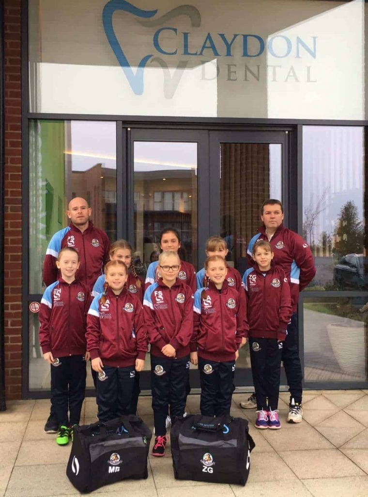 The Lionesses visit Claydon Dental 1