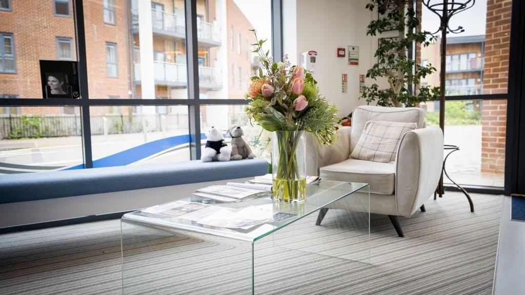 Claydon Dental Milton Keynes Reception Chair