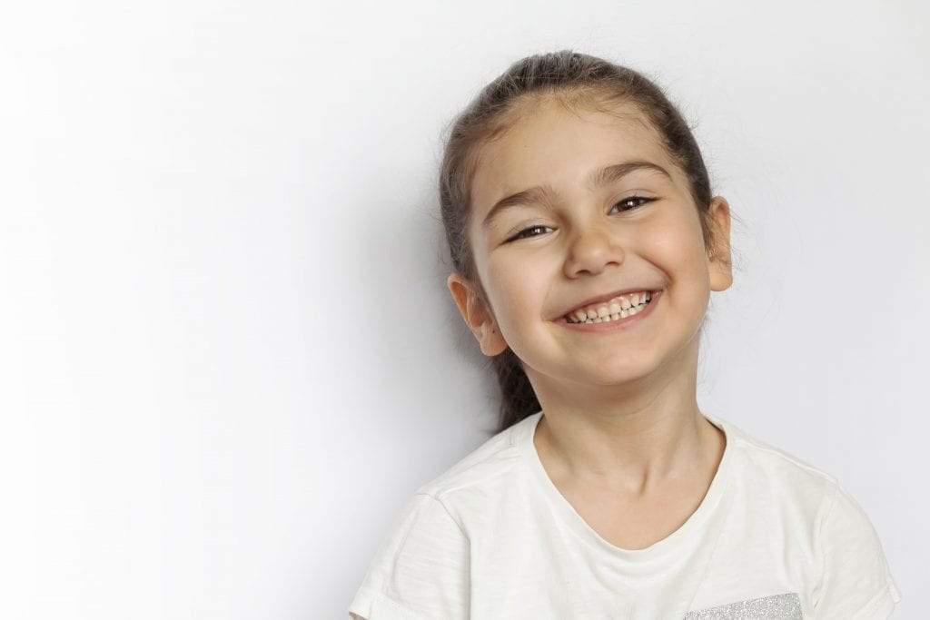 Childrens dentistry milton keynes girl smiling